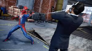 marvel u0027s spider man game ps4 playstation
