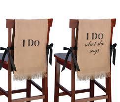 burlap chair covers lillian i do rustic burlap chair covers