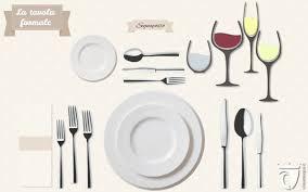 posizione bicchieri in tavola come apparecchiare la tavola mise en place formale e non