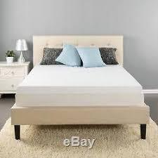 3 queen size memory foam mattress pad topper rv camper bed travel