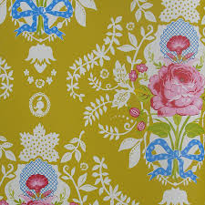 all over floral wallpaper by fifty one percent