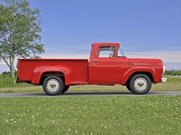 Ford F100 1975 Auctions 1960 Ford F100 Pickup Owls Head Transportation Museum