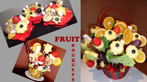 how to make fruit arrangements d i y edible fruit bouquets and mini fruit and chocolate