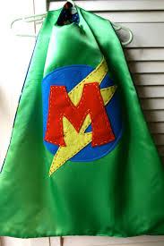 Flag Cape Superhero Cape Personalized Green Boys Superhero Cape Choose