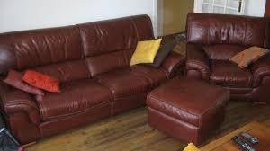 canapé et fauteuil en cuir ensemble canapé fauteuil pouf contemporain cuir noyon 60400