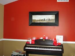 trend decoration painting a room two different colors living for