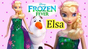 frozen fever queen elsa birthday party doll 2015 disney
