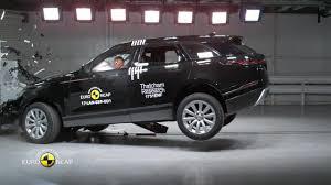 range rover velar crash test youtube