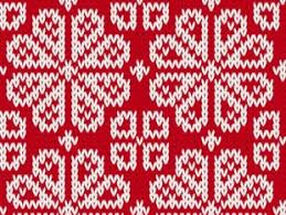 christmas pattern knit fabric knitted fabric pattern border vector material set 17 free vectors
