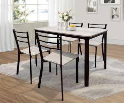 chaises m tal ensemble table et 6 chaises 39 moderne décor ensemble table et 6