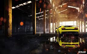 yellow lamborghini front car lamborghini gallardo superleggera yellow front warehouse 6951620