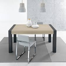 Contemporary Dining Table Contemporary Dining Table Metal Stained Wood Melamine