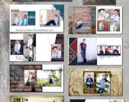 graduation photo album senior album 2017 2020 denim 10x10in senior boy album