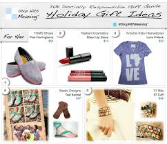 unique gift ideas for women christmas gift ideas socially responsible christmas gifts the