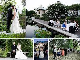 outdoor wedding venues chicago garden wedding venue for new york brides botanic gardens
