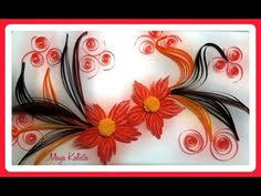 paper quilling how to make beautiful yellow bird design using