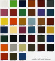 chart gm paint code chart