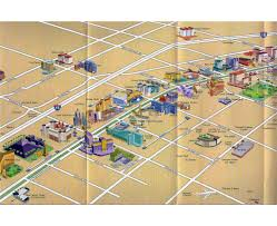 Hotel Map Las Vegas by Maps Of Las Vegas Detailed Map Of Las Vegas City Tourist Map