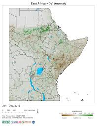 East Africa Map Products Early Warning And Environmental Monitoring Program