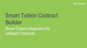 contract building for onboard with smart tuition youtube