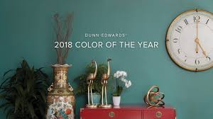 2018 color of the year the green hour dunn edwards youtube
