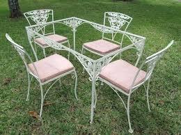 wrought iron patio furniture vintage kunokultura info
