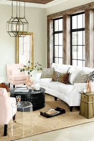 summer 2016 trends and inspiration how to decorate living room with brass accents bold lighting animal print and blush pink