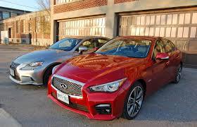lexus is350 vs infiniti g37 sedan motortrend head 2 head infiniti q50s vs lexus is350 f sport