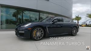 blue porsche panamera 2016 night blue porsche panamera turbo s 570 hp porsche west