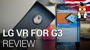 lg vr for g3 awesome or too little too late youtube