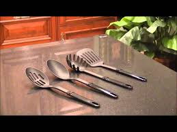 ginsu koden series 18 piece cutlery set 05216 youtube