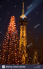 eiffel tower christmas lights eiffel tower christmas lights paris france stock photo 12365336 alamy