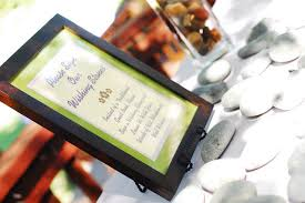 wedding wishing stones diy 15 creative guest book ideas for your wedding
