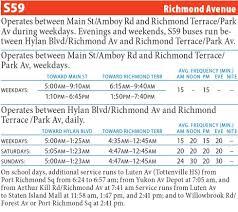 Q44 Bus Map S59 Richmond Avenue