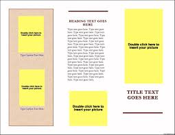 single page brochure template new hand out templates toolkit