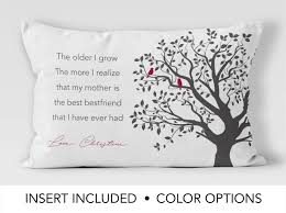 Best Gift For Mom by Mother Gift Mother Is Best Friend Mother U0027s Day Pillow Gift