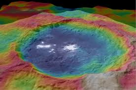 Colorado Elevation Map by Vesta Topography Map Nasa