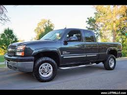 2003 chevrolet silverado 2500 lt 4x4 1 owner duramax diesel for