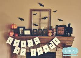 Vintage Halloween Printables by Five Easy Tips To Styling A Halloween Mantel Three Little