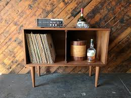 mid century record cabinet mid century style record cabinet credenza the hunt vintage