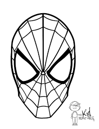 spiderman coloring pages super heroes printable coloring pages