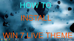 how to install live wallpapers on windows 7 youtube