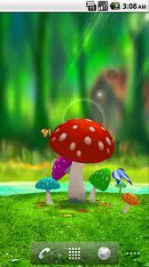wallpaper 3d mushroom amazing 3d mushroom garden for android free download on mobomarket