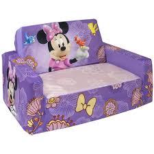 flip open sofa marshmallow flip open sofa with slumber disneys minnie mouse walmart
