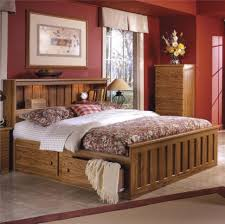 sauder orchard hills bookcase headboard furniture home large image for beds with shelf headboards of top