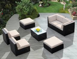 Dark Brown Wicker Patio Furniture by Patio Wicker Patio Furniture Clearance Brown Rectangle Modern