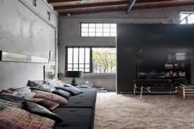 28 industrial interior design modern living room solid oak
