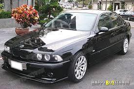 bmw m5 98 98 03 matte black painted bmw e39 m5 model h type front bumper lip