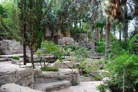 big orange landmarks no 110 los angeles police academy rock garden