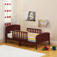 How To Convert A Crib To Toddler Bed by Athena Classic Sleigh Toddler Bed Your Choice In Finish